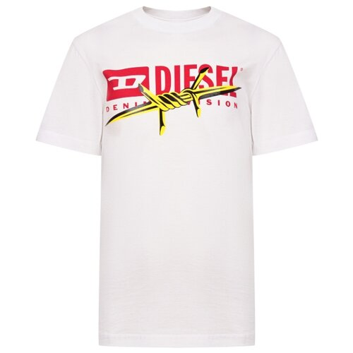 Футболка DIESEL размер 128, белый футболка diesel diesel di303embvfz1