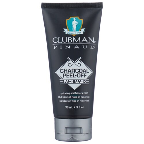 Clubman Очищающая черная маска для лица Charcoal Peel-Off Face Mask 90 мл