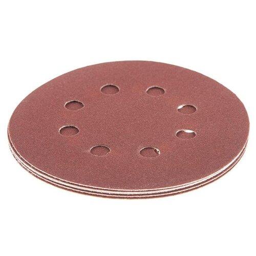 Шлифовальный круг на липучке Hammer 214-007 125 мм 5 шт шлифовальный круг на липучке hammer 214 011 125 мм 5 шт