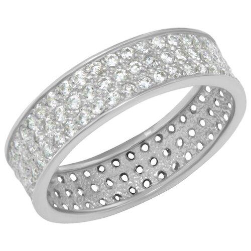 FJ Кольцо с 114 фианитами из серебра A1100577-00775, размер 17 фото