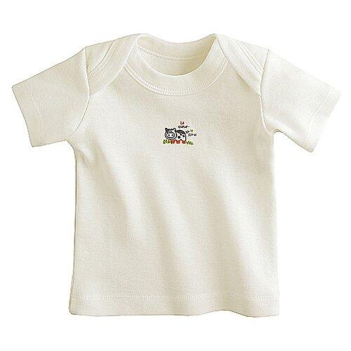 Купить Футболка Наша мама размер 74, белый, Футболки и рубашки