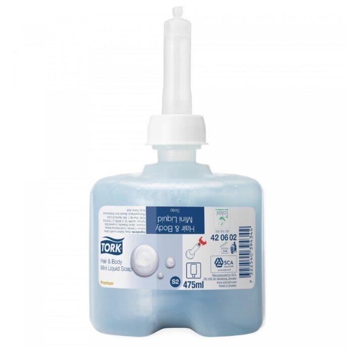 Мыло жидкое TORK Premium S2 для тела