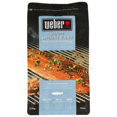 Weber Щепа для копчения, смесь для рыбы, 700 г