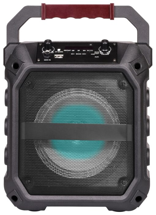 Купить Портативная акустика SUPRA SMB-510 black по низкой цене с доставкой из Яндекс.Маркета (бывший Беру)
