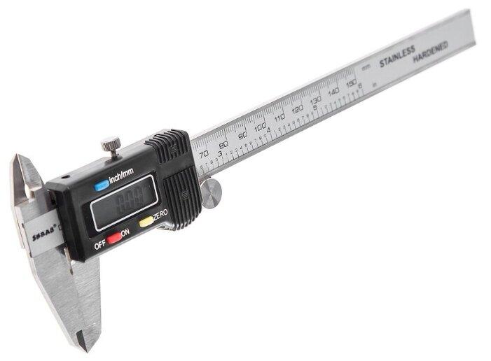 Цифровой штангенциркуль SKRAB 40360 150 мм, 0.01