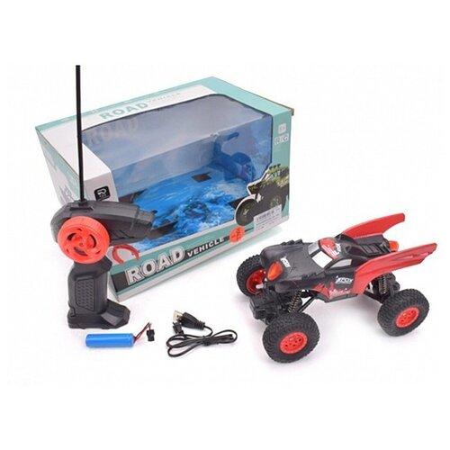 Купить Гоночная машина Наша игрушка KS1019-3 19 см красный/черный, Радиоуправляемые игрушки