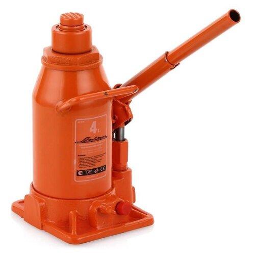 цена на Домкрат бутылочный гидравлический Airline AJ-TB-04 (4 т) оранжевый