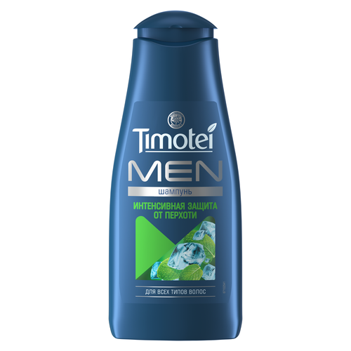 Купить Timotei шампунь Men Интенсивная защита от перхоти для всех типов волос, 400 мл