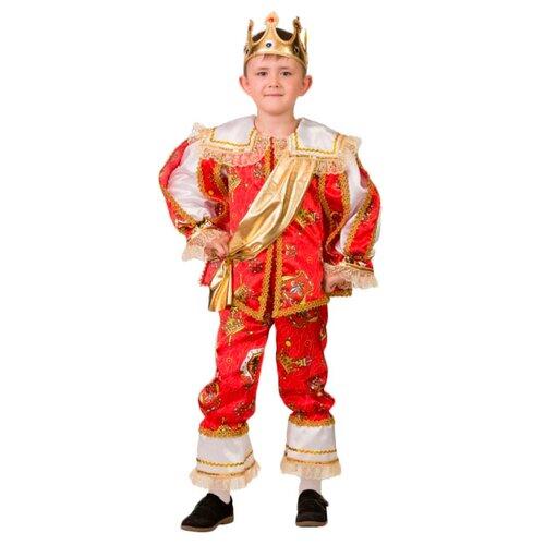Купить Костюм Батик Герцог (1902), белый/красный, размер 128, Карнавальные костюмы