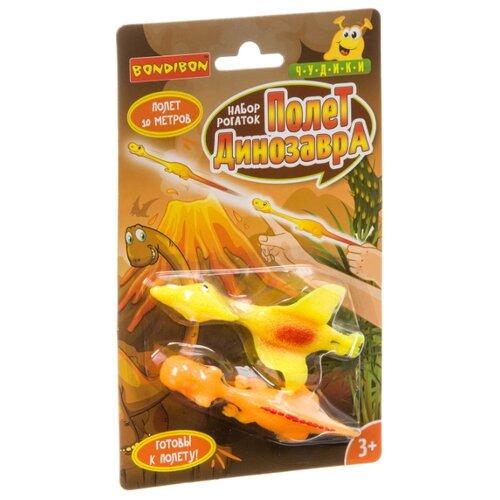 Купить Рогатка Bondibon Чудики Полет динозавра (ВВ3589), Игрушечное оружие и бластеры