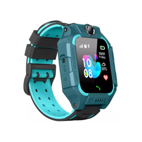 Детские умные часы c GPS Smart Baby Watch SBW 3 зеленый/голубой детские умные часы c gps smart baby watch kt03 голубой синий