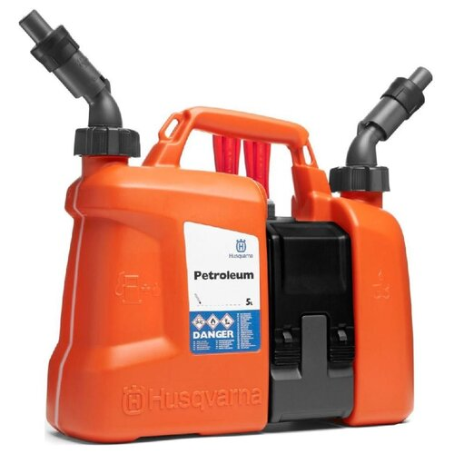 Канистра Husqvarna 5807542-01, 7.5 л, оранжевый аккумулятор съемный husqvarna bli 100 9670918 01