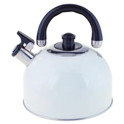 Appetite Чайник со свистком LKD-2025C/V/W 2.5 л, белый