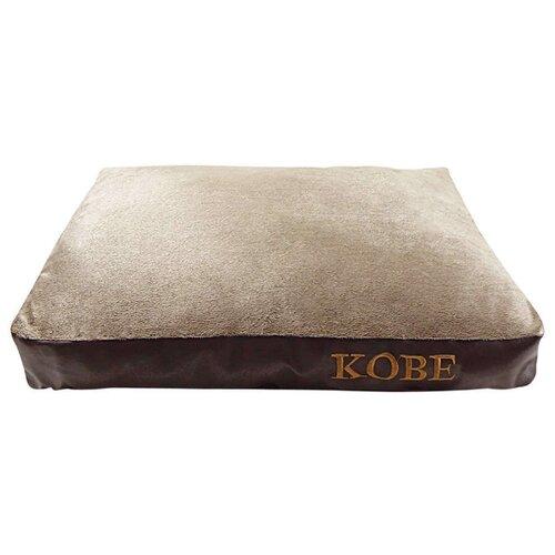 Лежак для собак Fauna International Kobe S 70х50х10 см бежевый/коричневый