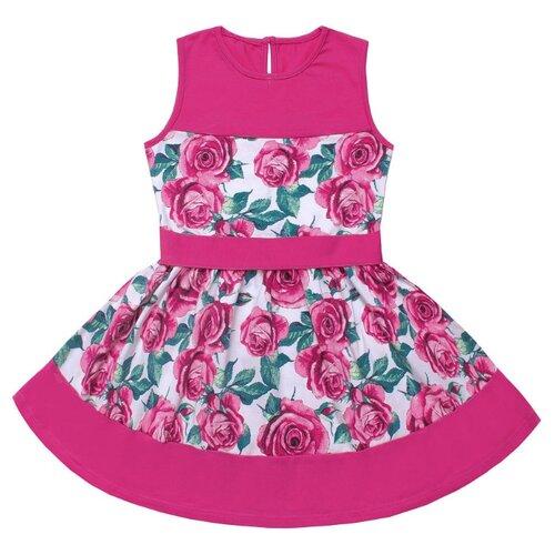 Купить Платье Апрель размер 140-72, розовый, Платья и сарафаны