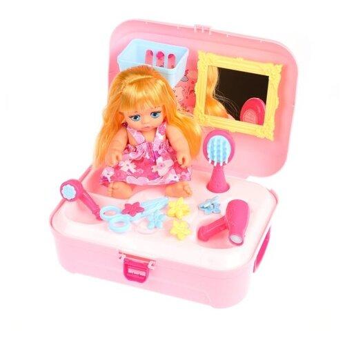 Игровой набор BOWA Салон красоты с куклой, 19 см, 8239WB