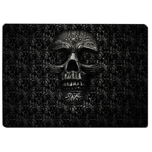 Коврик для мыши Black Skull череп