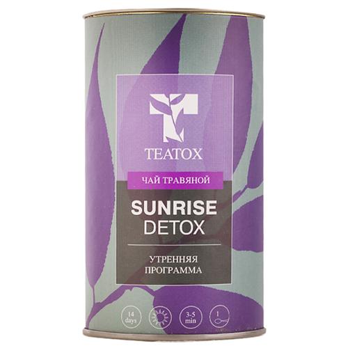 Чай зеленый Teatox Sunrise detox, 70 г чай листовой floris detox