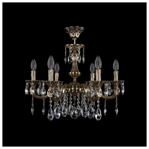 Люстра Bohemia Ivele Crystal 1702 1702/6/210/A/GB, E14, 240 Вт