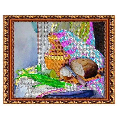 Светлица Набор для вышивания бисером Свежий хлеб 24 х 19 см (241)