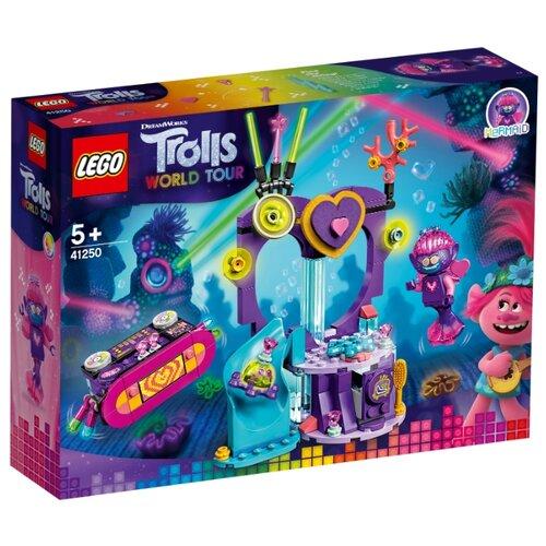 Купить Конструктор LEGO Trolls World Tour 41250 Вечеринка на Техно-рифе, Конструкторы
