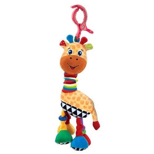 Купить Подвесная игрушка Умка Жираф (RVC-G2) оранжевый/красный/голубой, Подвески