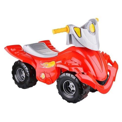 Купить Каталка-толокар Нордпласт Квадроцикл (431002) со звуковыми эффектами красный, Каталки и качалки