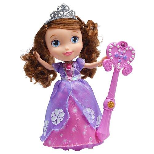 Купить Интерактивная кукла JAKKS Pacific Disney Junior София Прекрасная Танец принцессы, 33 см, 93215, Куклы и пупсы