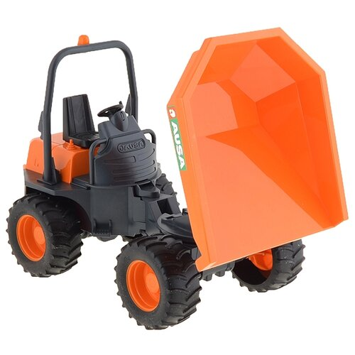 Купить Грузовик Bruder Ausa (02-449) 1:16 26.6 см оранжевый/черный, Машинки и техника