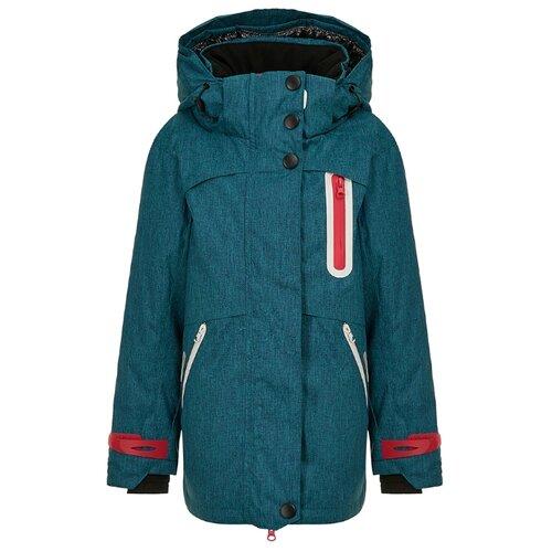 Купить Куртка Oldos Эмили размер 170, бирюзовый, Куртки и пуховики