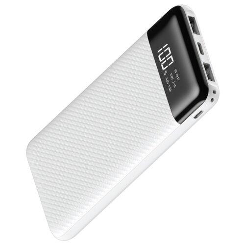 Аккумулятор INTERSTEP PB10DPD 10000mAh, белый