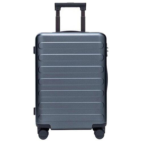 Чемодан Xiaomi 90 Points Seven Bar Suitcase 24 65 л, dark gray чемодан xiaomi 90 points suitcase 1a 20 white