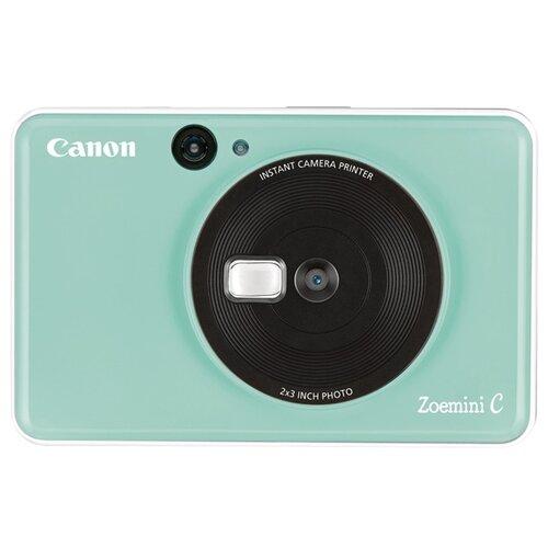 Фото - Фотоаппарат моментальной печати Canon Zoemini C мятно-зеленый фотоаппарат
