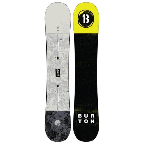 Сноуборд BURTON Descendant (19-20) серый 158
