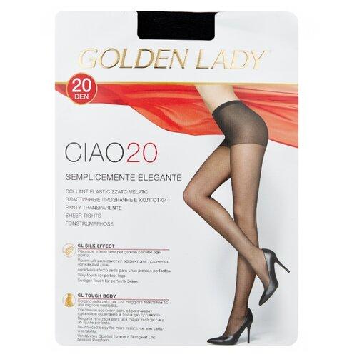 Колготки Golden Lady Ciao 20 den, размер 3-M, nero (черный) колготки golden lady ciao 20 den размер 3 m nero черный