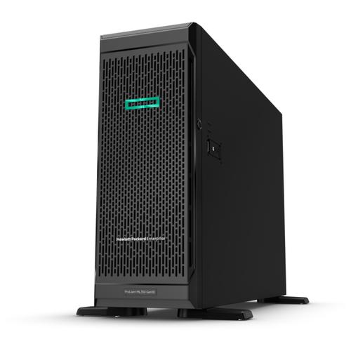 Сервер Hewlett Packard Enterprise Proliant ML350 Gen10 (P11050-421) 1 x Intel Xeon Silver 4208 2.1 ГГц/16 ГБ DDR4/без накопителей/количество отсеков 3.5