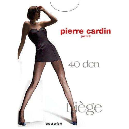 Фото - Колготки Pierre Cardin Liege, 40 den, размер IV-L, nero (черный) колготки 50 den pierre cardin marseille coffee 2 мл