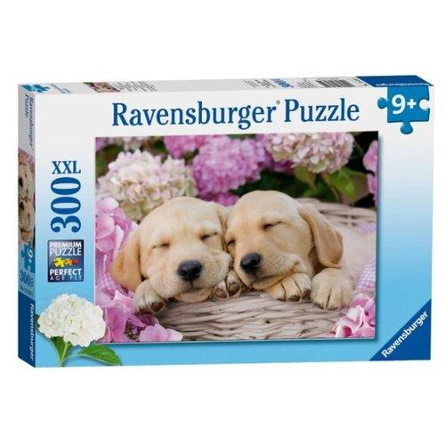 Купить Пазл Ravensburger Сладкие щенки в корзинке (13235), 300 дет., Пазлы