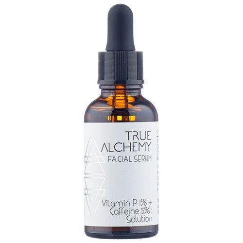 True Alchemy Vitamin P 1% + Caffeine 5% Solution: сыворотка для лица с витамином P и кофеином, 30 мл true alchemy 12% glyceryl
