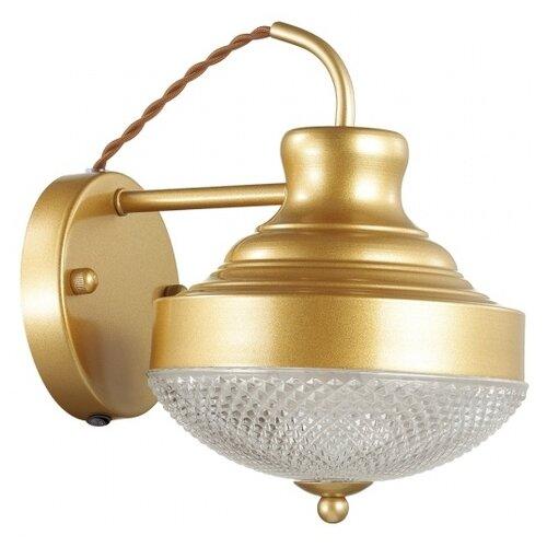 Бра Odeon light Krona 4658/1W, с выключателем, 40 Вт бра odeon light 4102 1w