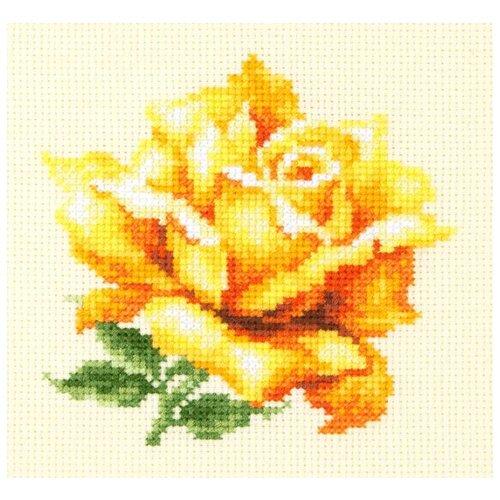 Фото - Чудесная Игла Набор для вышивания Жёлтая роза 11 х 11 см (150-005) чудесная игла набор для вышивания лебединая пара 30 х 21 см 64 01