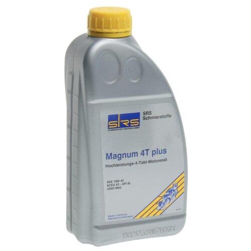 Минеральное моторное масло SRS Magnum 4T Plus 10W-40 1 л минеральное моторное масло srs multi rekord top 15w40 1 л