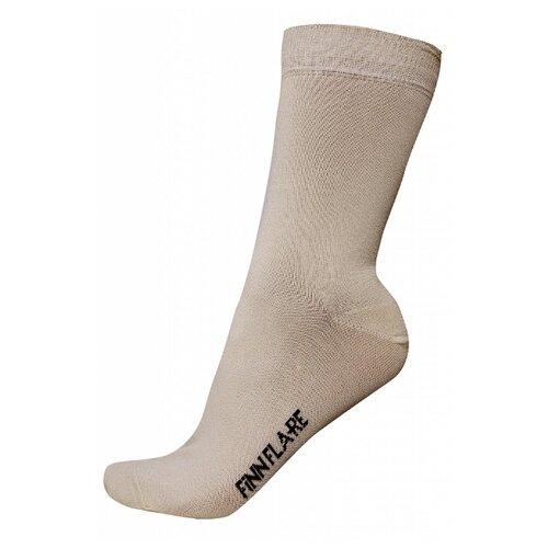 Носки FiNN FLARE B19-21130, размер XL, коричневый