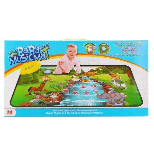 Купить Музыкальный коврик Наша игрушка Музыкальный водопад (910D), Игровые коврики