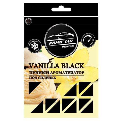 A2DM Ароматизатор для автомобиля Prime Car perfume Vanilla black 220 г гелевый ароматизатор для автомобиля vanilla cupcake