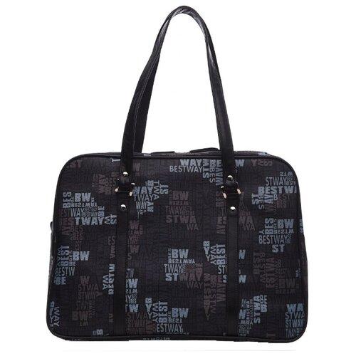 MT-DRS04-K01bw Дорожная сумка Мистраль, черн. bw