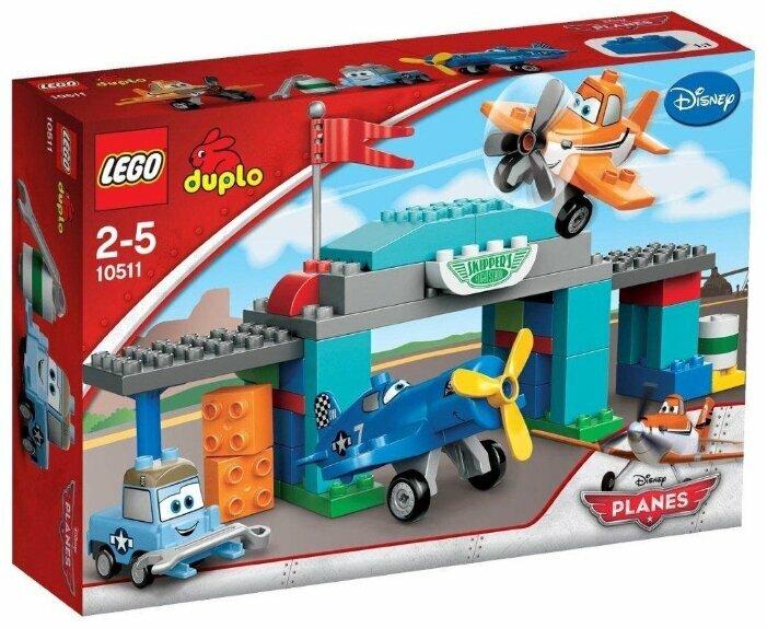 Конструктор LEGO DUPLO 10511 Лётная школа Шкипера