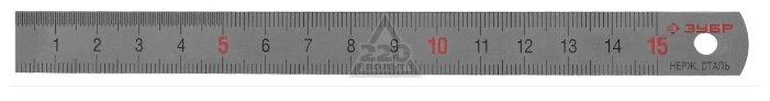 Строительная линейка ЗУБР 34280-0.5-015 150 мм