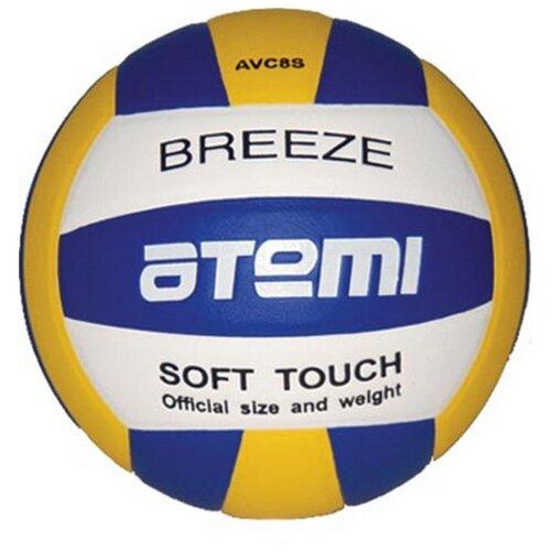 Волейбольный мяч ATEMI Breeze синий/желтый/белый