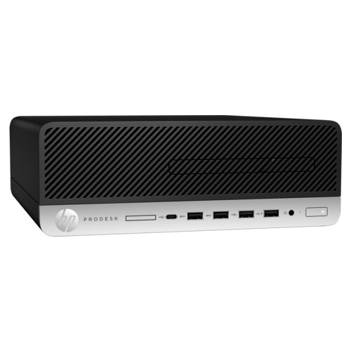 Настольный компьютер HP ProDesk 405 G4 (9US75EA) Slim-Desktop/AMD Ryzen 5 PRO 2400G/8 ГБ/512 ГБ SSD/AMD Radeon RX Vega 11/Windows 10 Pro черный компьютер